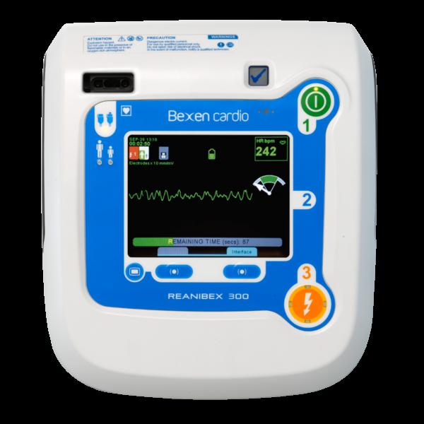 Reanibex 300 DEA ECG