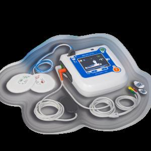 Reanibex 300 DEA ECG componentes